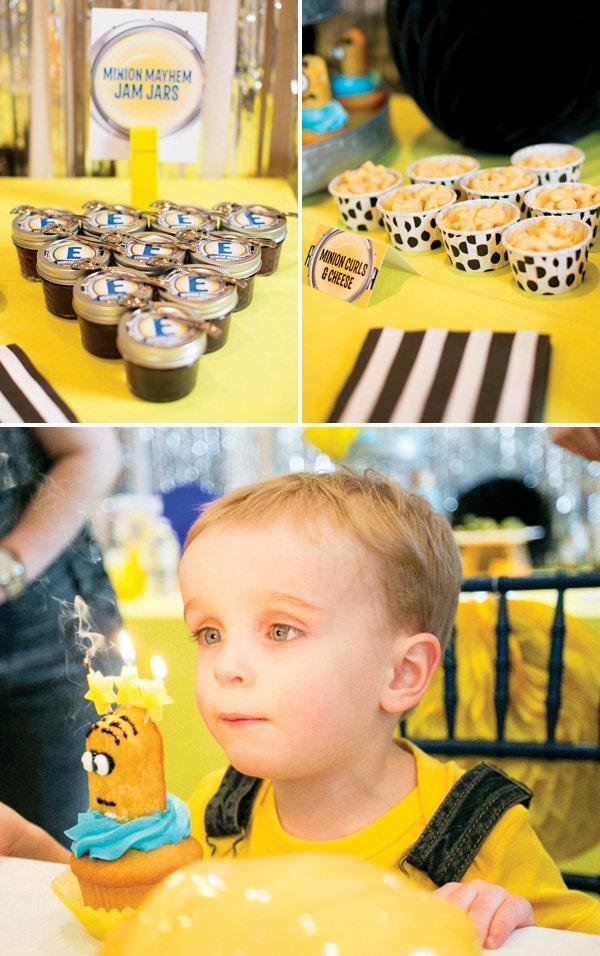 minion birthday party dessert ideas