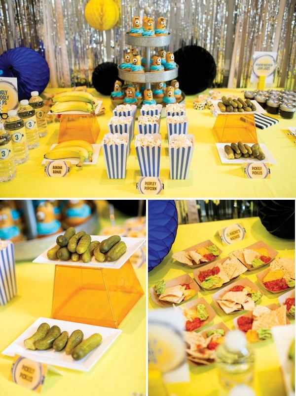 minion birthday party food ideas