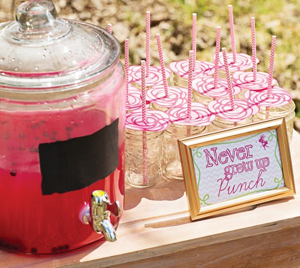 never grow up party punch