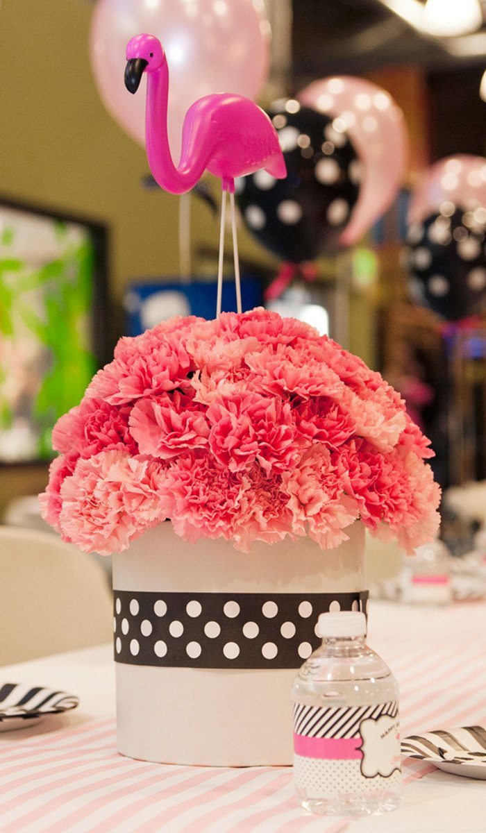 Ice Cream Parlor Pink Flamingo Party Hostess With The Mostess