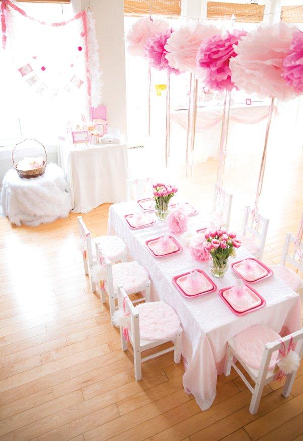 pink tablescape decor ideas