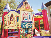 princess party bounce house