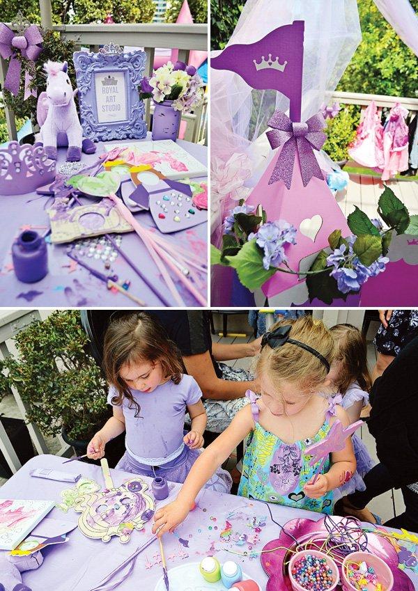 princess birthday party crafts