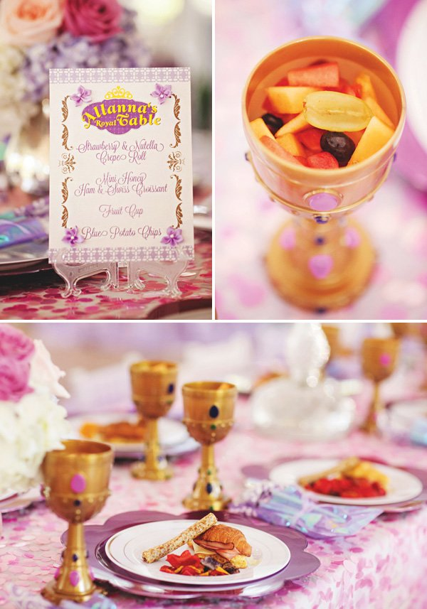 princess birthday party food ideas