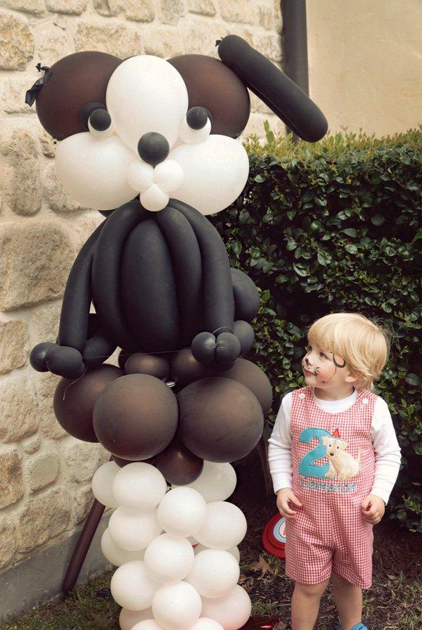 puppy dog balloon sculpture