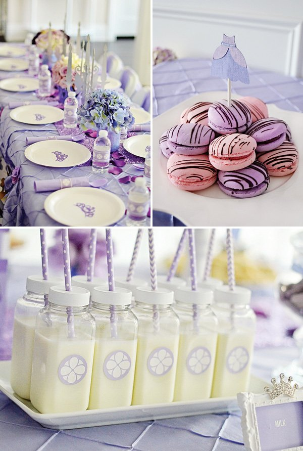 purple princess party decor ideas