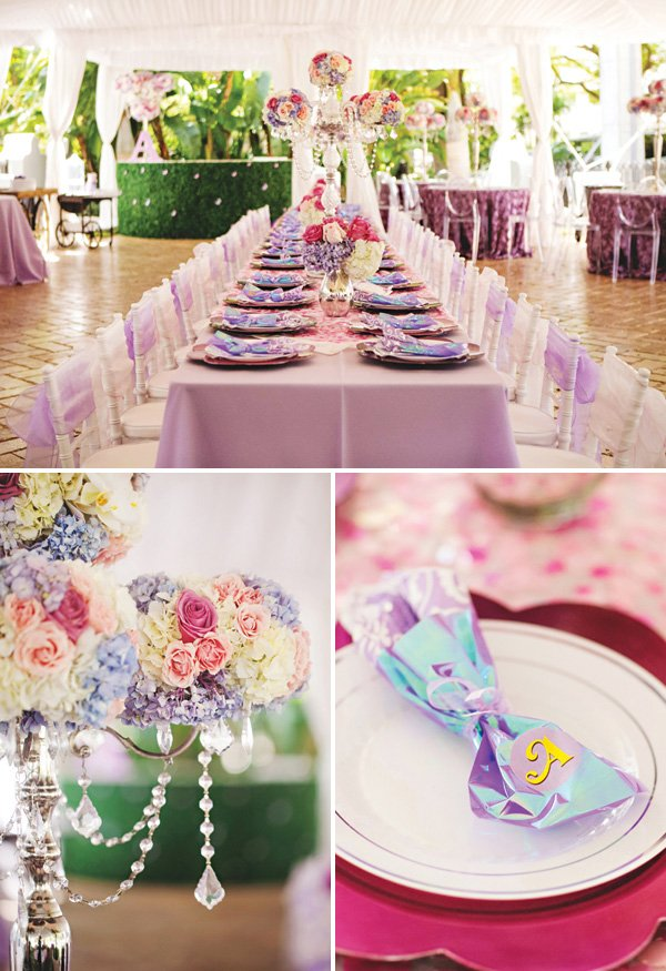royal princess sofia the first party tablescape
