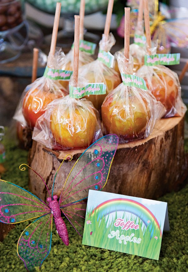 rustic toffee apples