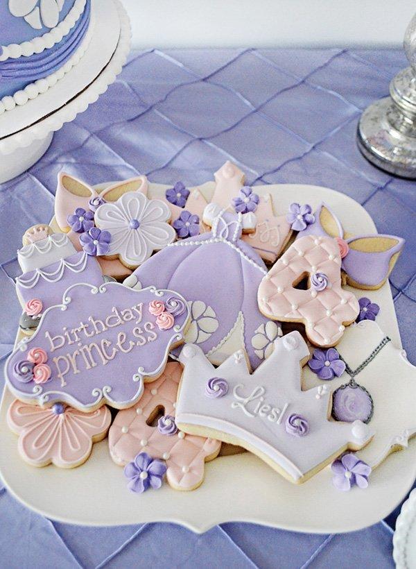 sofia the first princess cookies