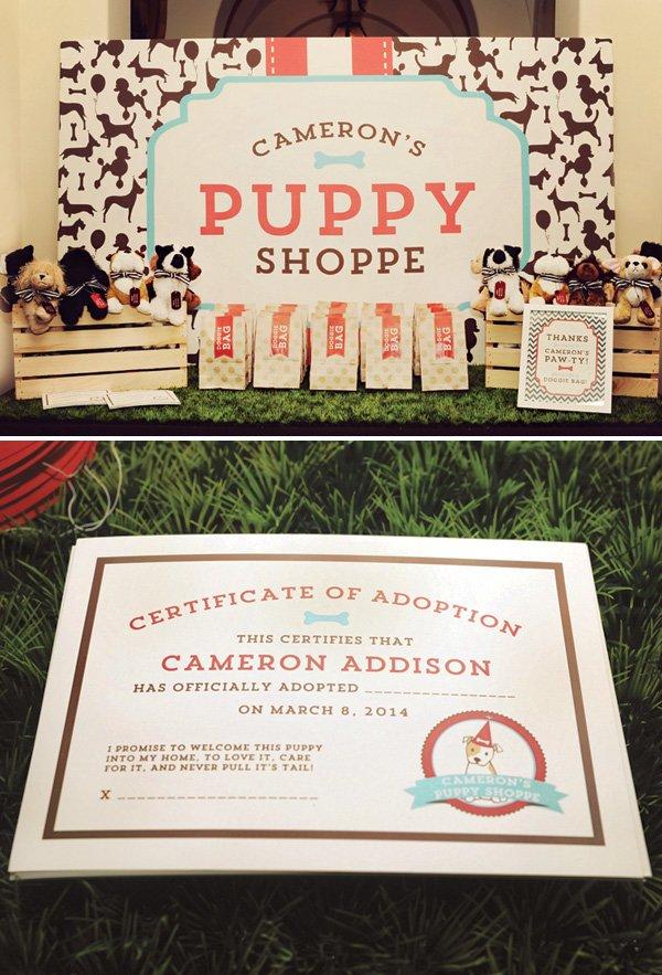 stuffed animal toy puppy dog adoption game