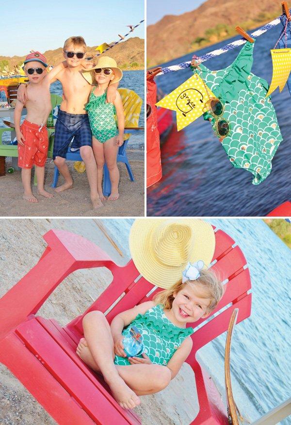 vintage little girl's bathing suits