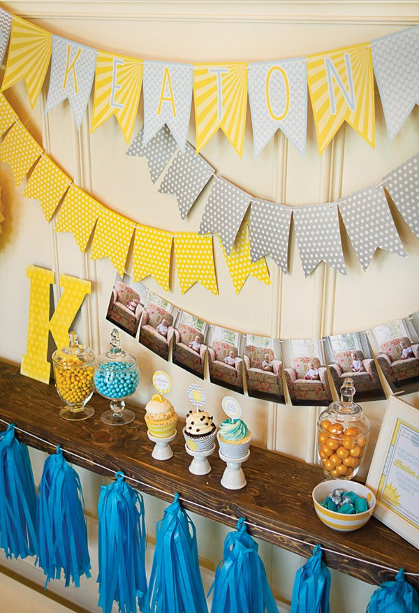 New Series Parties in a Pinch First Birthday Hostess with the