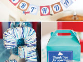 3rd birthday airplane party decor ideas