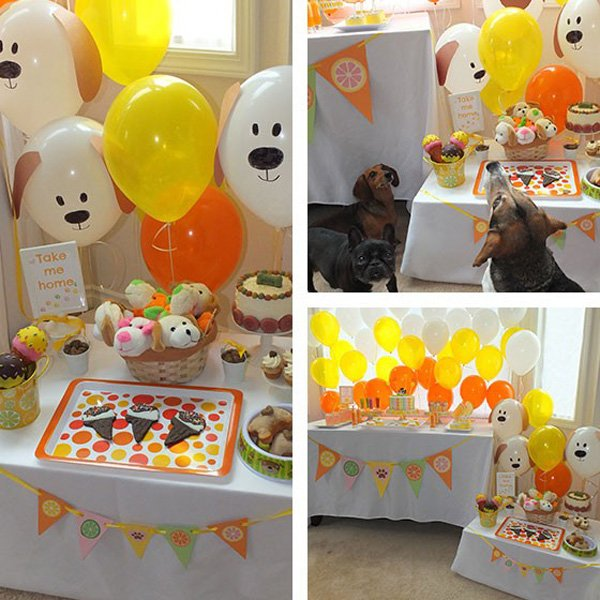 dog days of summer dog themed birthday party