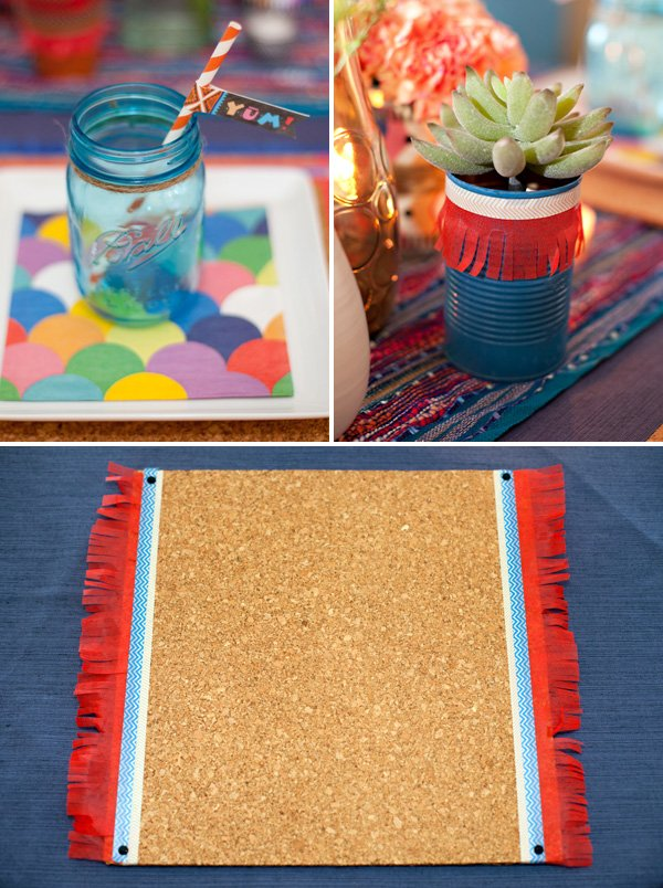 DIY fiesta party decor