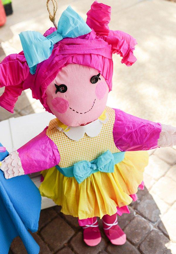 DIY lalaloopsy piñata