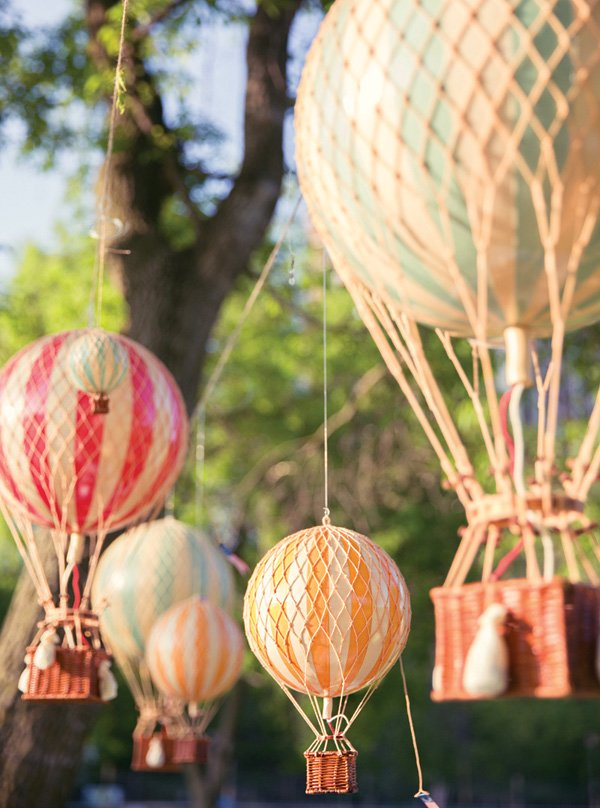 Up Up And Away Hot Air Balloon Birthday Hostess With
