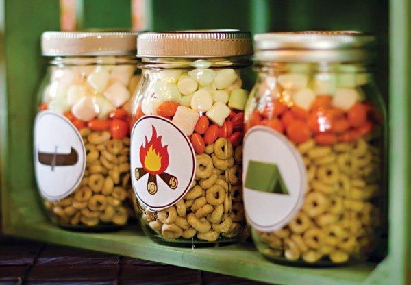 DIY smore jars