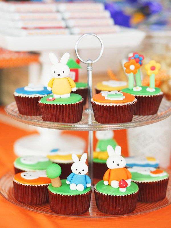 Nijntje Miffy cupcakes