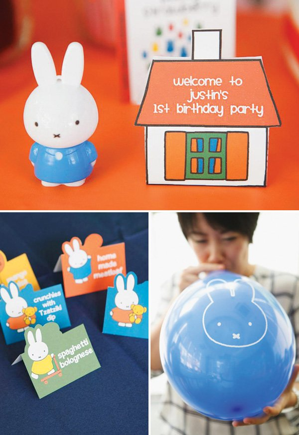 Nijntje Miffy party supplies