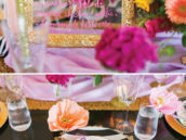 DIY acrylic plexiglass place cards
