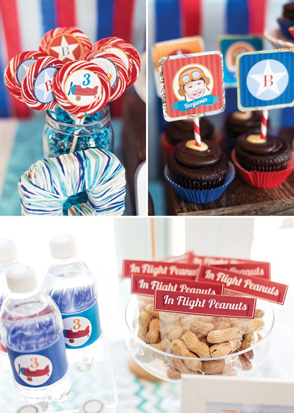 airplane party snack and food ideas