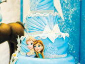 amazing 4 tiered frozen birthday party