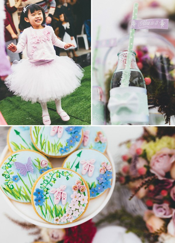 ballet recital birthday party ideas