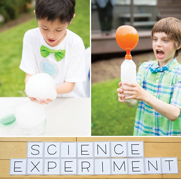 birthday party science experiments