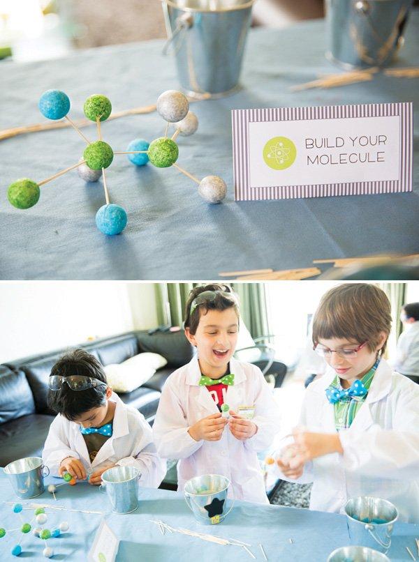 build a molecule activity