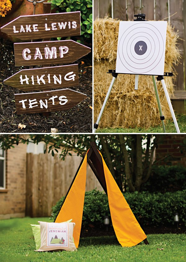 outdoor camping party games and activities