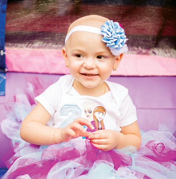 childhood cancer awareness party