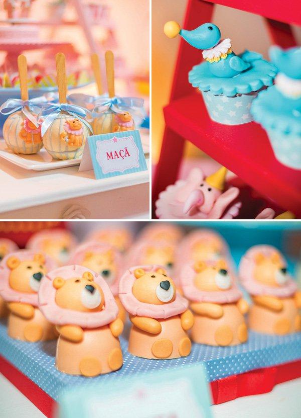 circus animal desserts