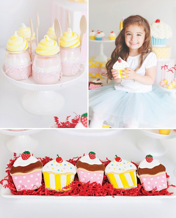 cute as a cupcake birthday party ideas