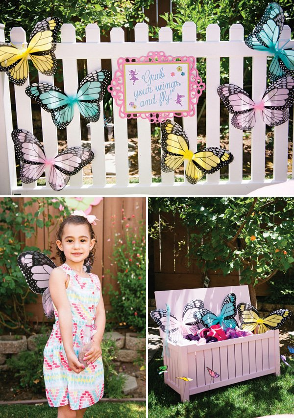 fairy wings for a birthday party