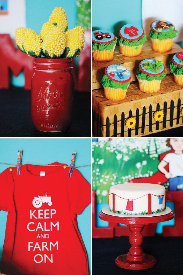 smallville farm party desserts