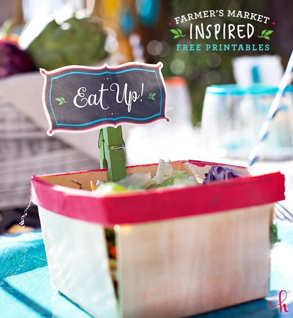 farmers market inspired free printables from hwtm