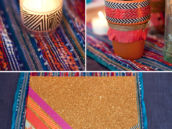 washi tape decor ideas for a fiesta