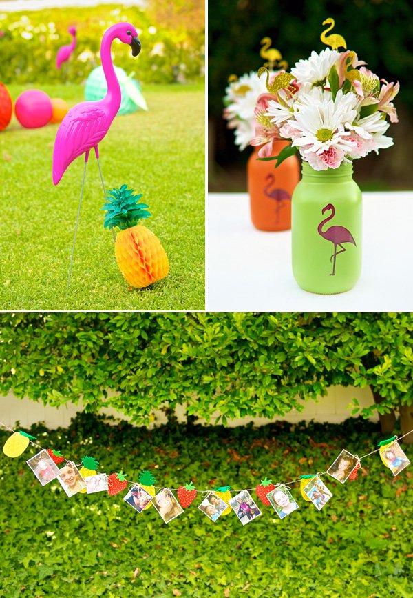 flamingo birthday party decor ideas