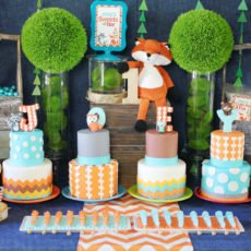 fox-party-dessert-table