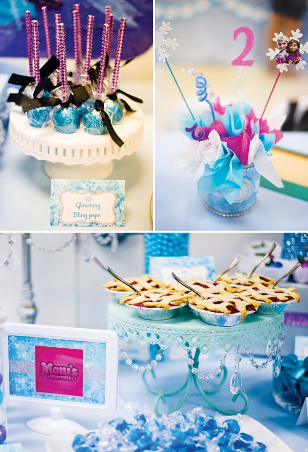frozen's anna inspired decor and desserts