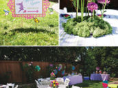 garden party tablescape and centerpiece ideas
