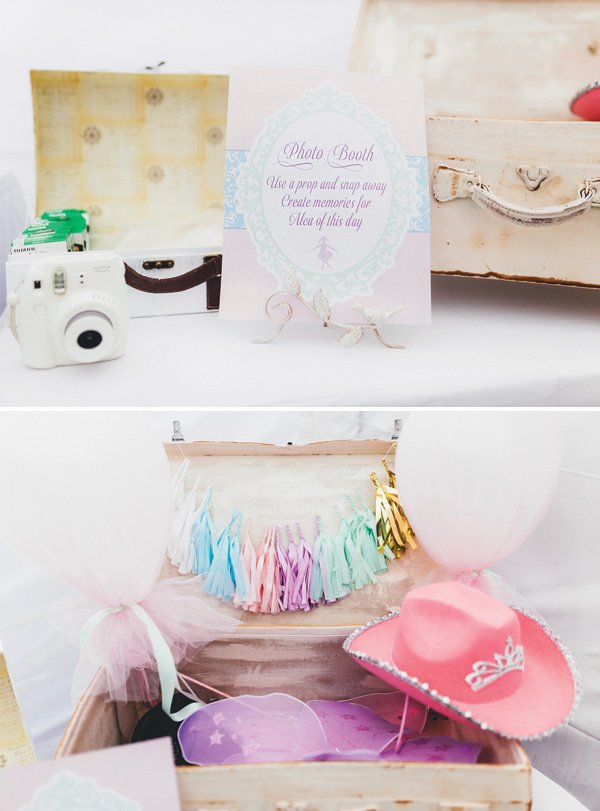 girly photo booth props
