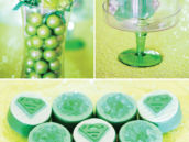 bright green kryptonite candy