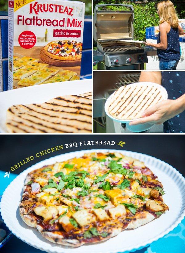 grilled chicken flatbread pizza recipe