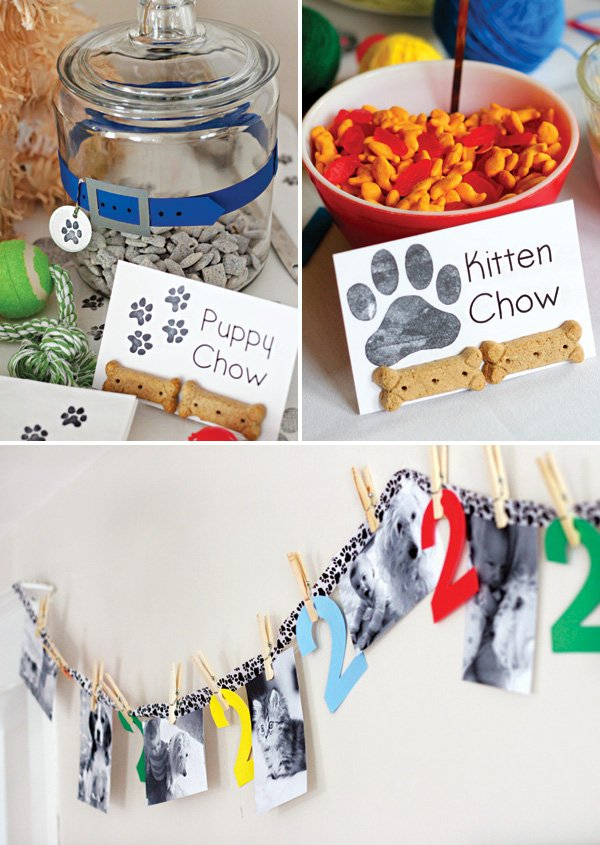 homemade puppy chow and kitten chow