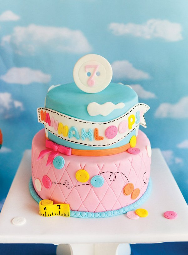 lalaloopsy birthday cake