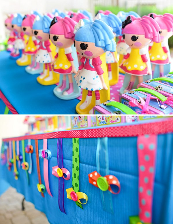 lalaloopsy birthday party favor dolls