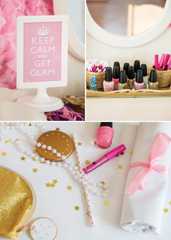 manicure and makeover activites