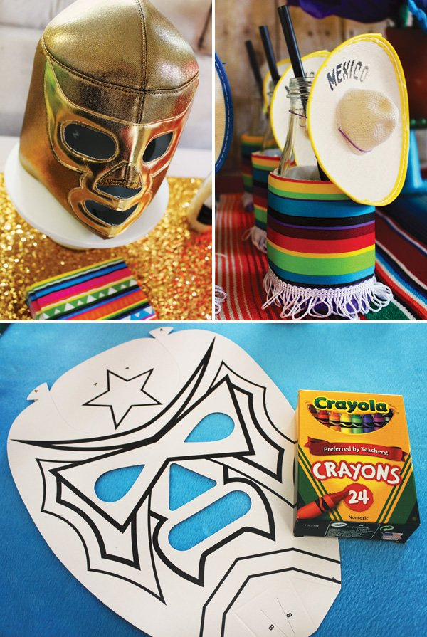 mexican luchador party ideas